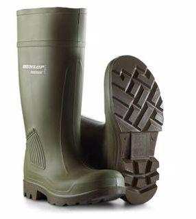 Dunlop grønn vernestøvel