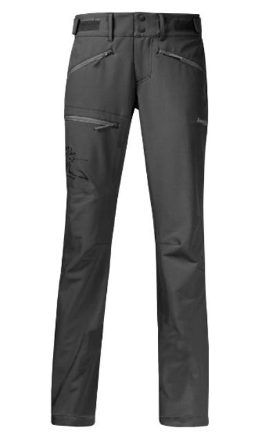 Bergans Brekketind Dame Bukse Lett bukse spesielt utviklet for topptur i meget fleksibelt softshell Lett bukse spesielt utviklet for topptur i
