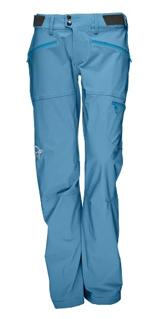 Norrøna Women's Falketind Warm1 Stretch Pants Fleecebukse Caviar   L