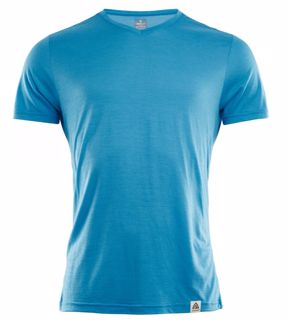 Aclima  LightWool T-Vneck Man