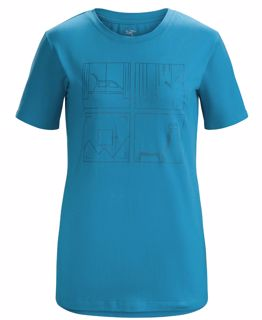 ArcTeryx  Quadrants T-Shirt SS Women's