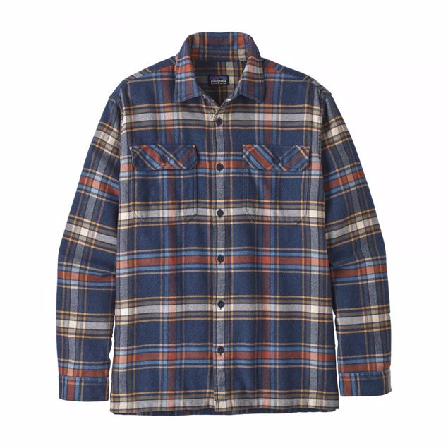 Patagonia  M LongSleeved Fjord Flannel Shirt