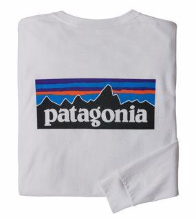 Patagonia  M LongSleeved P-6 Logo Responsibili-Tee