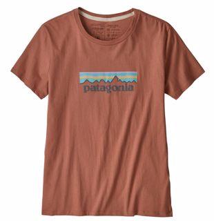 Patagonia  W Pastel P-6 Logo Org Crew T-Shirt