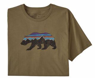 Patagonia  M Fitz Roy Bear Organic T-Shirt