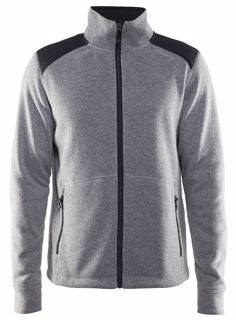 Craft  NOBLE ZIP JACKET HEAVY KNIT FLEECE M