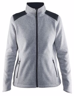 Craft  NOBLE ZIP JACKET HEAVY KNIT FLEECE W