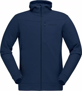 Norrøna  falketind Warmwool2 Stretch Zip Hood (M)
