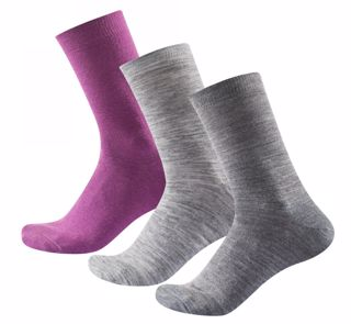 Devold  DAILY LIGHT WOMAN SOCK 3PK