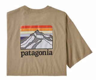 Patagonia  M Line Logo Ridge Pocket Resp-T