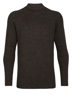 Icebreaker  Mens Hillock Funnel Neck Sweater
