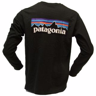 Patagonia  M L/S P-6 Logo Responsibili-Tee
