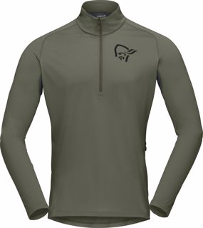 Norrøna  fjørå Equaliser Long Sleeve Zip Top (M)