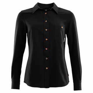 Aclima  Woven Wool Shirt, Woman