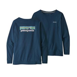 Patagonia  W´S L/S Pastel P-6 Logo Resp.-T