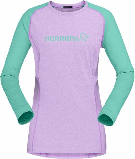 Norrøna  fjørå equaliser lightweight Long sleeve (W)