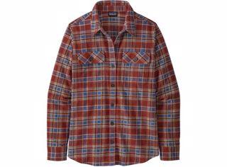 Patagonia W´S L/S Organic Cotton Mw Fjord Flannel Shirt
